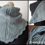 photo tricot modèle tricot écharpe bergère de france 12