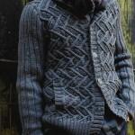 photo tricot modèle tricot écharpe bergère de france 13