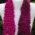 photo tricot modèle tricot écharpe bergère de france 15