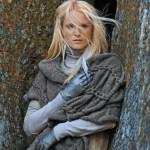 photo tricot modèle tricot écharpe bergère de france