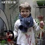 photo tricot modèle tricot écharpe bergère de france 17