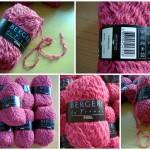 photo tricot modèle tricot écharpe bergère de france 18