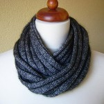photo tricot modèle tricot écharpe bergère de france 3