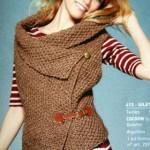 photo tricot modèle tricot écharpe bergère de france 8