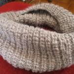 photo tricot modèle tricot écharpe bergère de france 9