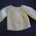 photo tricot modèle tricot bébé facile 10