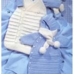 photo tricot modèle tricot bébé facile 11