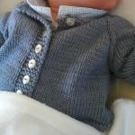 photo tricot modèle tricot bébé facile 3