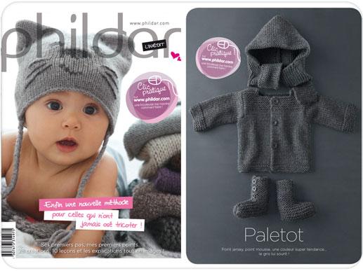 photo tricot modèle tricot bébé phildar 15