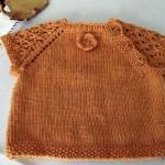 photo tricot modèle tricot bébé sans couture 10