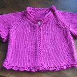 photo tricot modèle tricot bébé sans couture 14