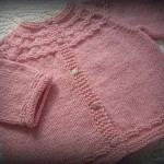 photo tricot modèle tricot bébé sans couture 8