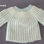 photo tricot modèle tricot bébé sans couture 9