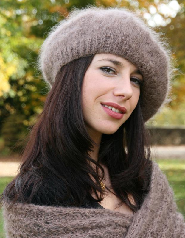 photo tricot modèle tricot béret 18