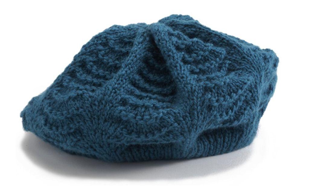photo tricot modèle tricot béret 2