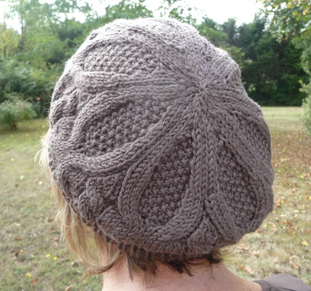 photo tricot modèle tricot béret 3