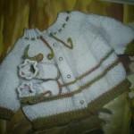 photo tricot modèle tricot bebe quentinho 17
