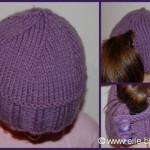 photo tricot modèle tricot bonnet 10