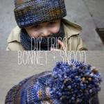 photo tricot modèle tricot bonnet pompon 17