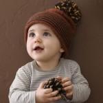 photo tricot modèle tricot bonnet pompon 5