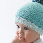photo tricot modèle tricot bonnet pompon 8