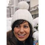 photo tricot modèle tricot bonnet pompon 9