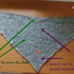 photo tricot modèle tricot débutant niveau 15