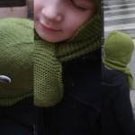 photo tricot modèle tricot echarpe qui ne roule pas 13