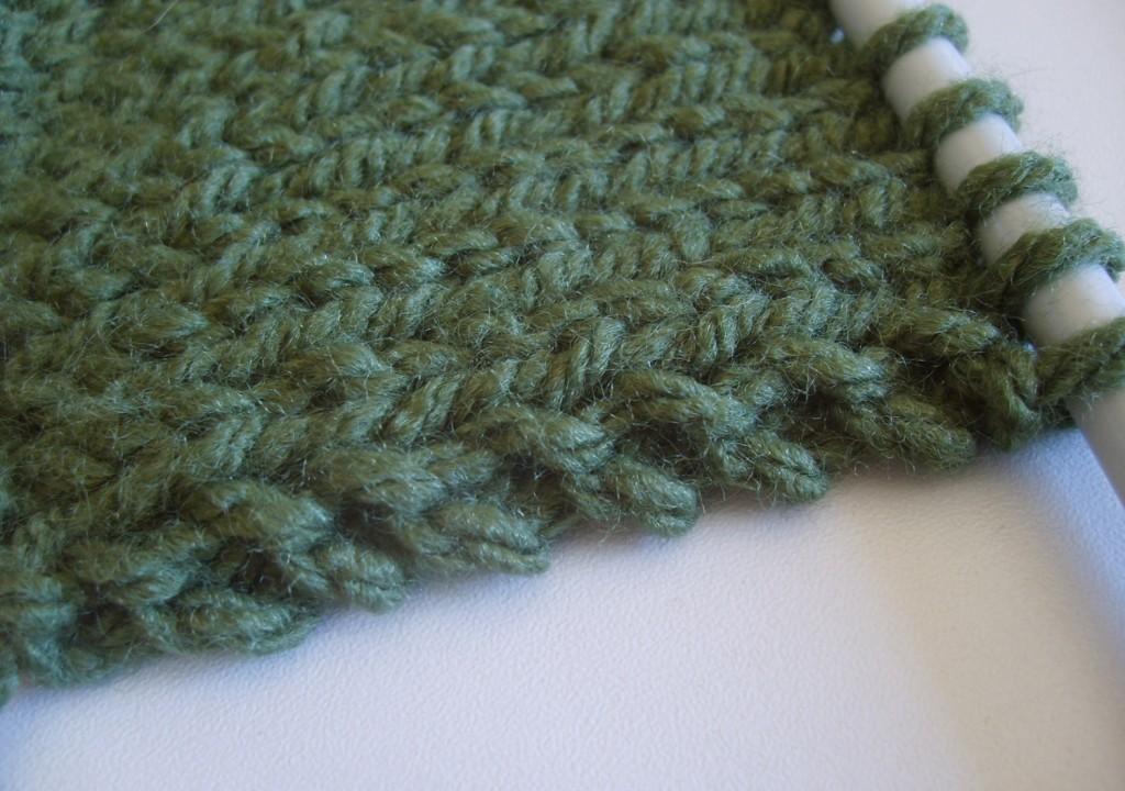 tricoter une echarpe qui ne roule pas