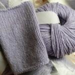 photo tricot modèle tricot echarpe qui ne roule pas 15