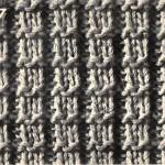 photo tricot modèle tricot echarpe qui ne roule pas