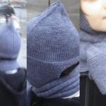 photo tricot modèle tricot echarpe qui ne roule pas 17