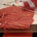 photo tricot modèle tricot echarpe qui ne roule pas 3