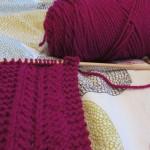 photo tricot modèle tricot echarpe qui ne roule pas 8