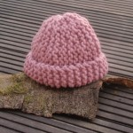 photo tricot modèle tricot facile bonnet bébé 10