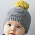 photo tricot modèle tricot facile bonnet bébé 11