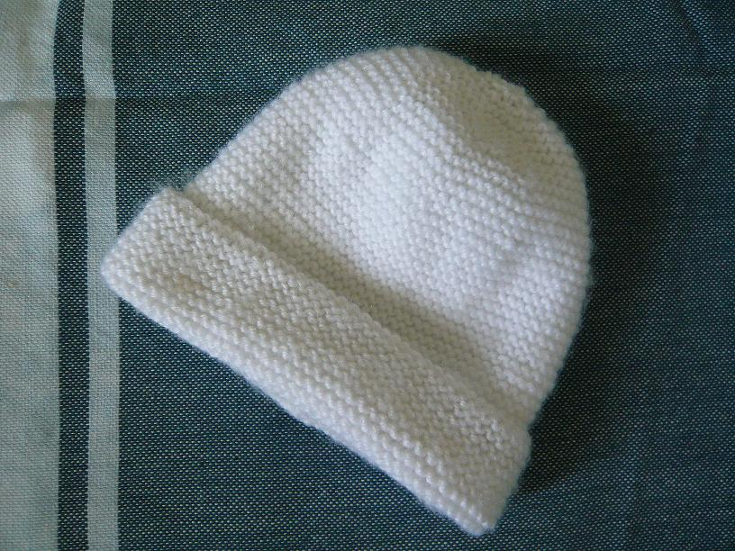 Photo Tricot Modèle Tricot Facile Bonnet Bébé 13