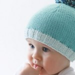 photo tricot modèle tricot facile bonnet bébé 4