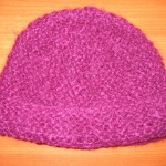 photo tricot modèle tricot facile bonnet bébé 7