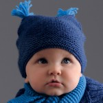 photo tricot modèle tricot facile bonnet bébé 8
