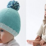 photo tricot modèle tricot facile bonnet bébé 9
