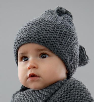 tricoter un bonnet bebe