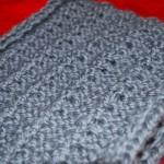 photo tricot modèle tricot facile snood homme 5