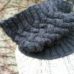 photo tricot modèle tricot facile snood homme 7