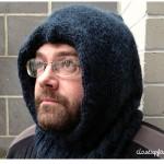 photo tricot modèle tricot facile snood homme 9
