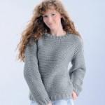 photo tricot modèle tricot femme gilet 10