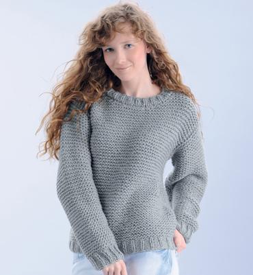 Snood en fausses côtes anglaises (ou comment se faire acheter de la laine bien