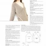 photo tricot modèle tricot femme gilet 11
