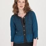 photo tricot modèle tricot femme gilet 13