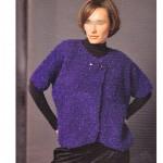 photo tricot modèle tricot femme gilet 18